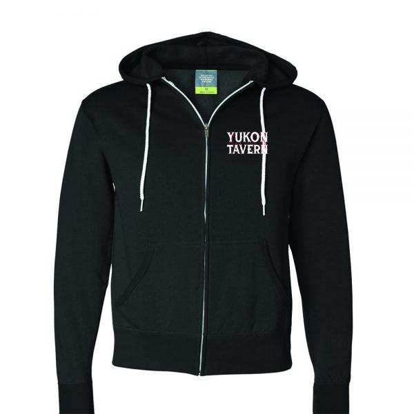 Yukon Tavern hoodie front
